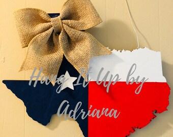 State of Texas Door Hanger