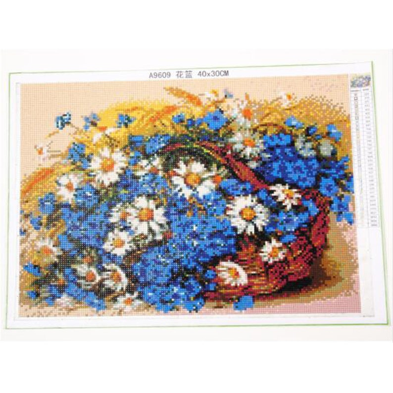 5d Diy Diamond Painting Bicycle landscape Full Resin Drill Stones Flower Home Decor Diamond Embroidery Mosaic Picture Rhinestones