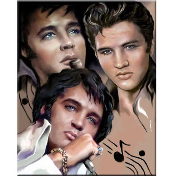 Full Drill 5D Diamond Painting Elvis Cross Stitch Kits Embroidery Home Decors