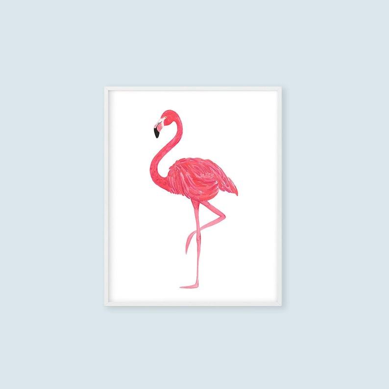 photograph regarding Flamingo Printable named Red Flamingo Printable Wall Artwork, Crimson Flamingo Toilet Artwork, Child Nursery Print 8x10 11x14 16x20 A4 A3 Instantaneous Down load