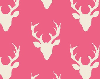 Hot Pink Buck fabric