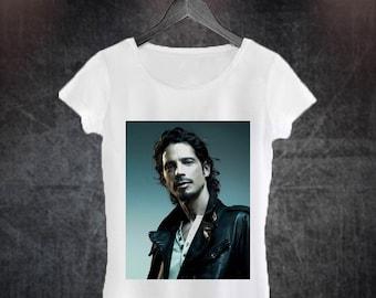 ac3f726be19f5 Chris Cornell Woman T-shirt
