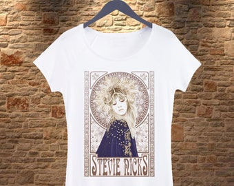 8bf96e744 Stevie Nicks Woman T-shirt