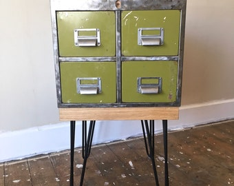 Upcycled Index Filing Cabinet
