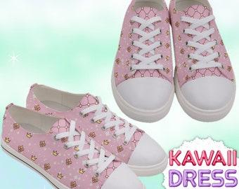 b8cb85c4e7c80 Anime Princess Adult High Top Sneakers Royals kawaii shoes | Etsy