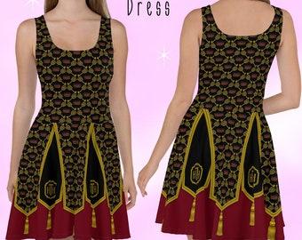 Tower of Terror Dress     plus size gothic lolita-dress disneybound disney villains hollywood twilight tower cosplay costume dress