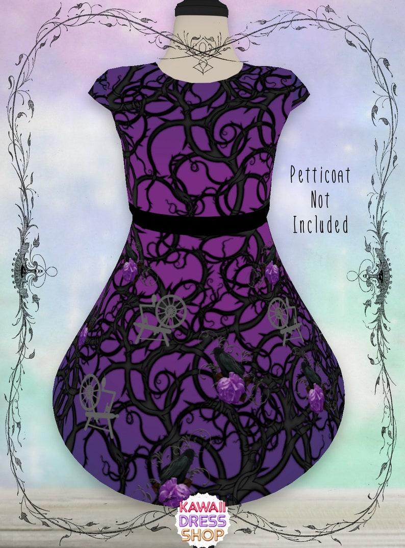 ffe095d2f856b KIDS Maleficent Inspired Dress, 2T-16, maleficent party, disneybounding,  maleficent dress, maleficent costume, maleficent birthday