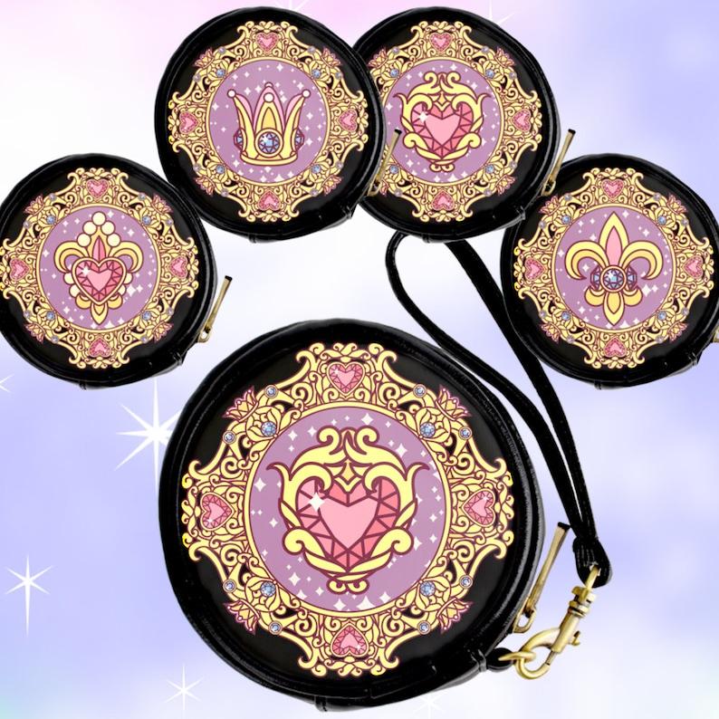 lolita bag mahou shoujo Anime Princess Jewels Wrist Bags Coin Purses sailor moon heart anime princess gift gift for lolita