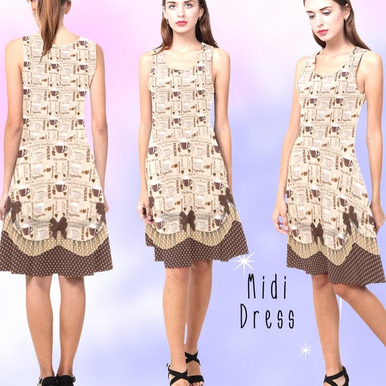 dress coffee coffee costume ADULTS Vintage Coffee Dress S-5XL plus size lolita coffee outfit latte dress vintage lolita