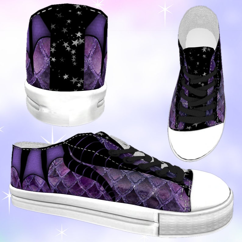 7221fc705bc5d KIDS Spellbound Maleficent Low Top Sneakers Dragons kawaii shoes Maleficent  shoes, Maleficent birthday, Maleficent party, Maleficent costume