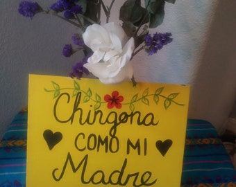 Mother's Day Canvass Sign