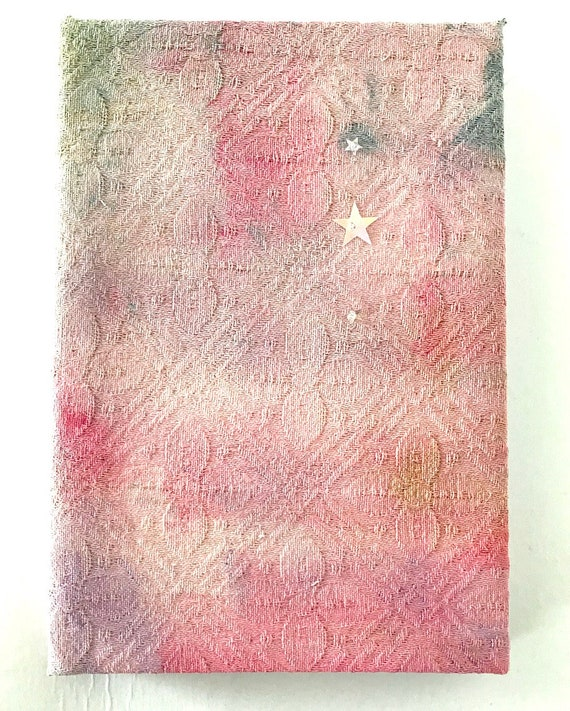 Hand Painted Notebook Journal Gift Under 10
