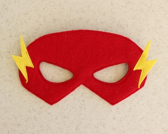 Flash felt mask - Kids dress up - Children superhero mask - Christmas party favor - Halloween party costume - Pretend play & Flash mask | Etsy