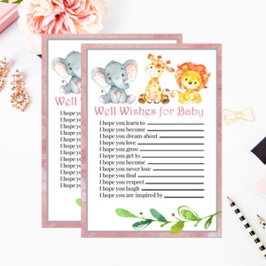 baby well wishes etsy