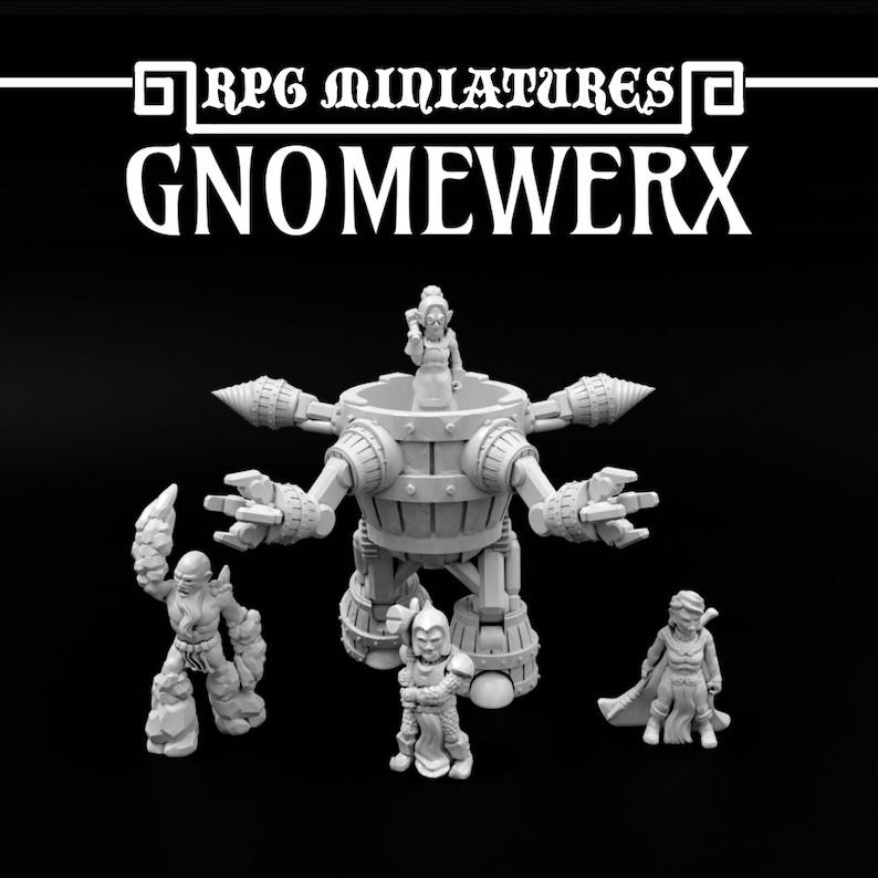 RPG Miniatures Gnomewerx