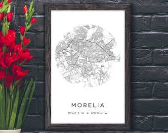 Morelia Mexico Art Etsy