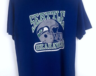 Vintage Seattle Seahawks American Football T-Shirt c5457baf5