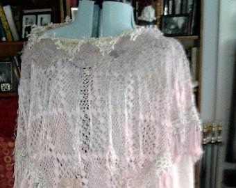 Vintage Uzbek Silk Tunic