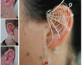Handcuff Dangle Top LabretCartilage piercingTragus piercing piercinghalloween earringhalloween piercing