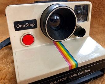 Iconic Vintage Polaroid Rainbow One Step Land Camera
