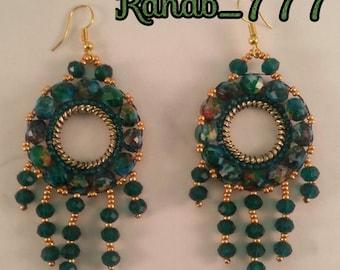 Jaded handmade Earrings