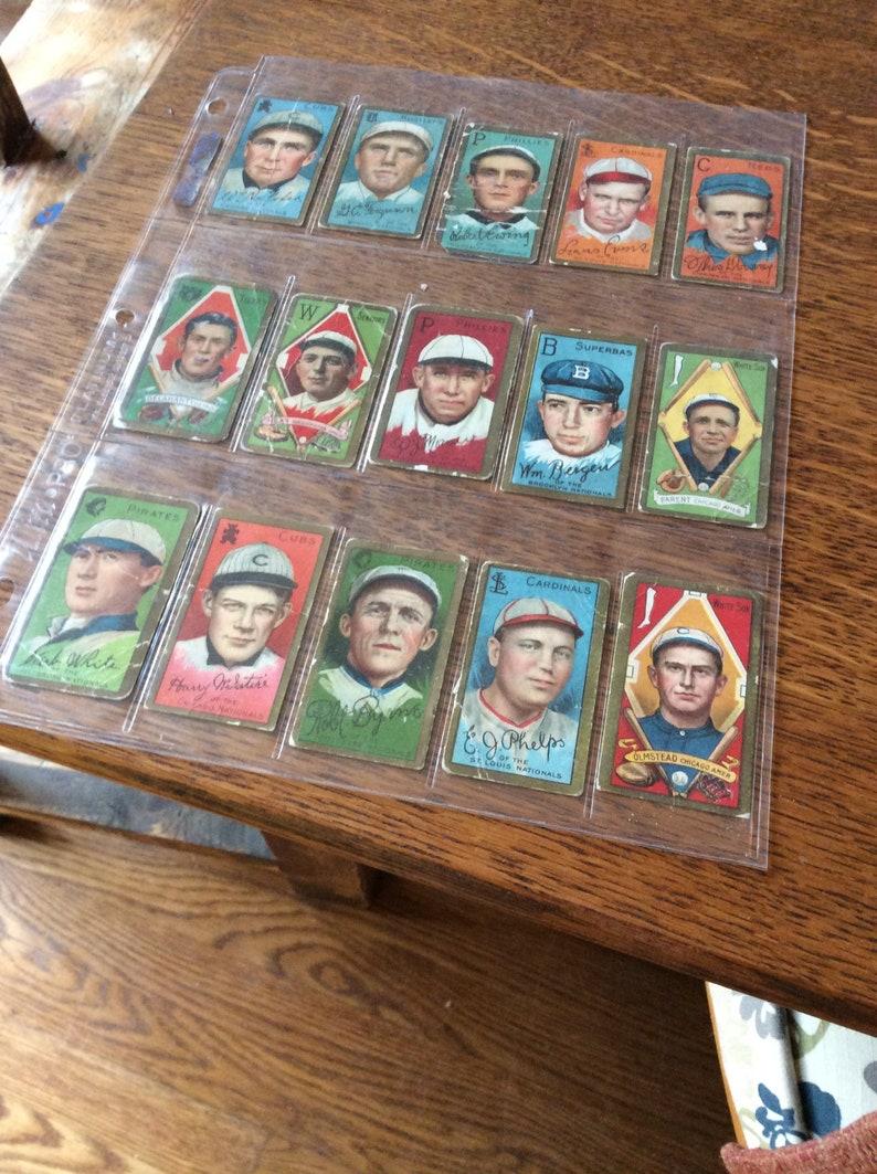 Veteran Baseball Card Collection