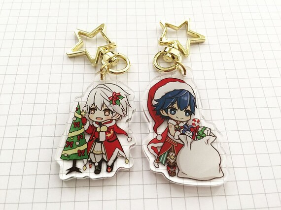 Fe Heroes Christmas.Fire Emblem Heroes Christmas Chrom And Robin