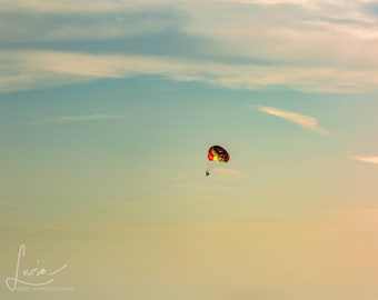 "Photography DIGITAL IMAGE DOWNLOAD - ""Parasail - Clearwater Beach"""
