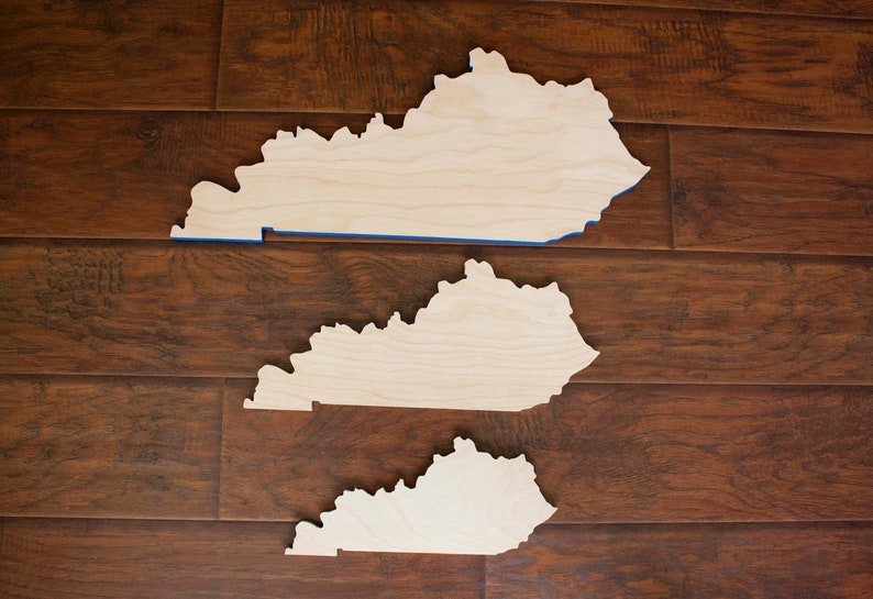 Wood State Cutout 1/2 Plywood image 0