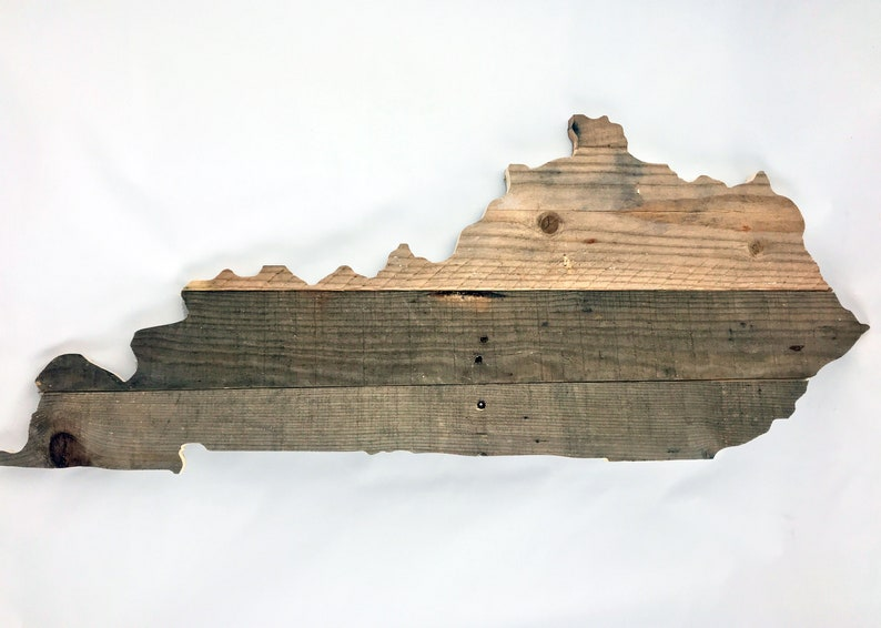 Reclaimed Wood State Cutout image 0