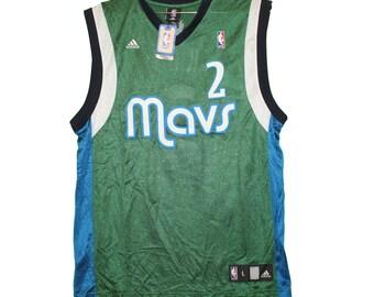 6b08d036540e Dallas Mavericks - Sleeveless Screenprinted Green Kidd Jersey