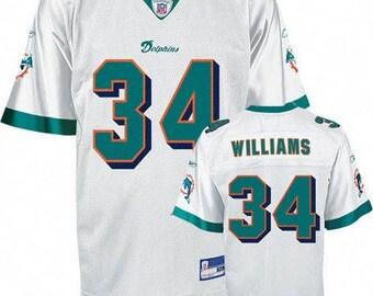 new products 932e1 b5e8b Miami dolphins jersey   Etsy