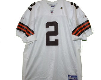 Cleveland Browns - Tim Couch  2 White Vintage Throwback Jersey 34eb6a40d
