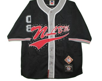 afd690dce8780 Negro League - Embroidered Black Nlbm Jersey