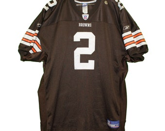 f2f0bd11f Cleveland Browns - Tim Couch  2 Brown Vintage Throwback Jersey