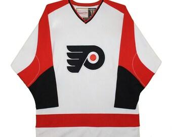 Mitchell   Ness Philadelphia Flyers Vintage Nhl Hockey Jersey 7f54cd3ab