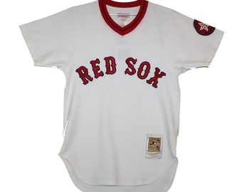 ebed1d152 Boston Red Sox - Vintage Replica Throwback Jersey Shirt