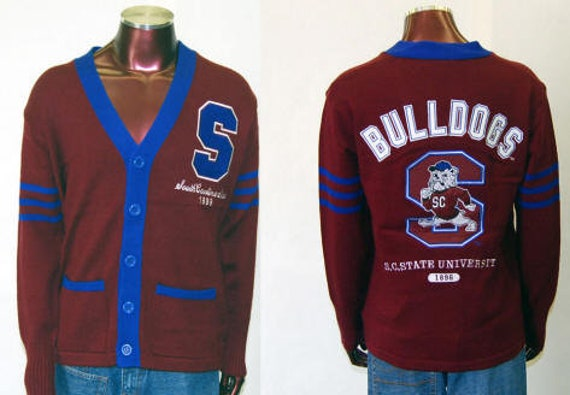 South Carolina State Bulldogs - Cardigan Sweater