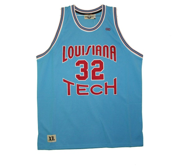 Louisiana Tech Bulldogs - Vintage Blue Malone Thro