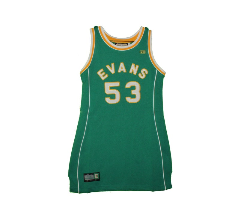 sports shoes 0186b 445a3 Evans High School - Vintage Darryl Dawkins Throwback Jersey Dress