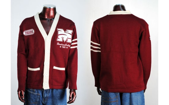 Morehouse Tigers - Cardigan Sweater
