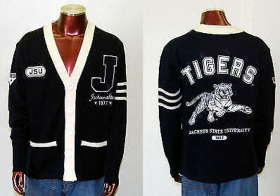 Jackson State Tigers - Cardigan Sweater