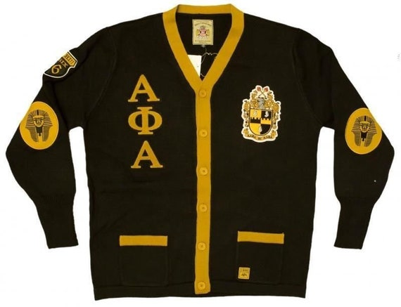 Alpha Phi Alpha - Cardigan Sweater