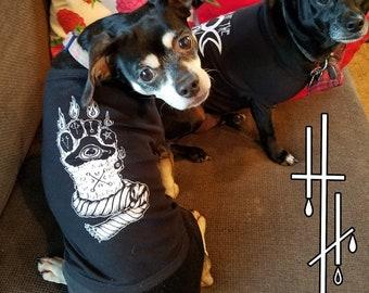 Paw of Glory doggie tee by Hellhounds