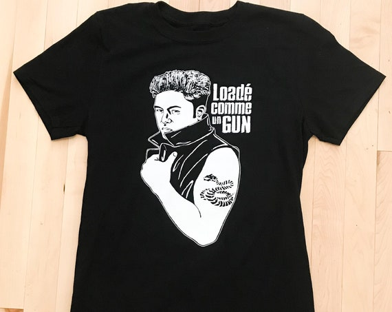 Tshirt Loade as a gun