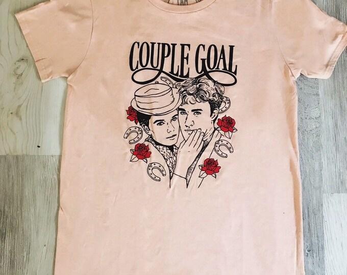 GOAL COUPLE tshirt