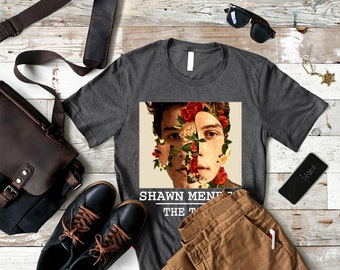 2fdafb671627 Shawn Mendes T-Shirt- Awesome Gift For Men Women Boy Girl Wife Husband On  Birthday, Mother's Day, Father's Day, Chrisrmas