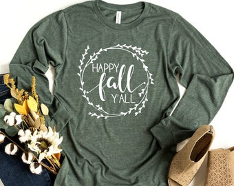 Fall Shirt Fall Tshirt Football Sweatshirt Football Mom Shirt Football and Fall Yall Football Sweater Fall Yall Shirt Football Tshirt