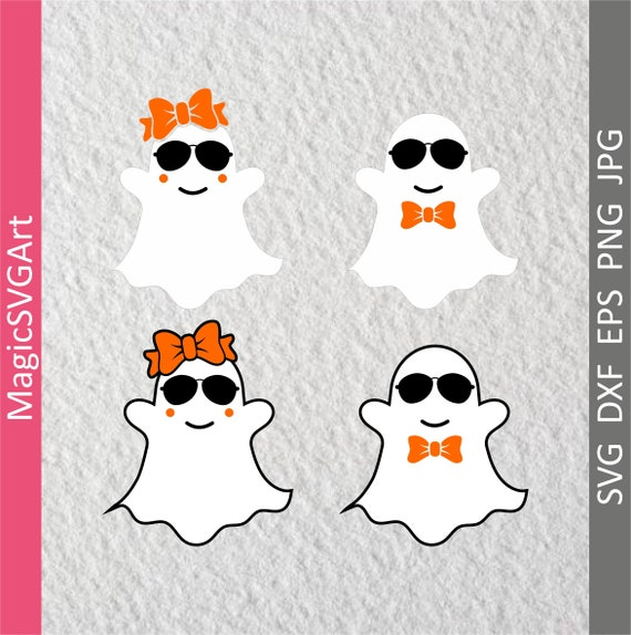 Ghost Svg Cute Ghost Svg Cool Ghost Svg Boo Svg Bootiful Etsy