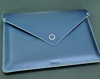 Leather Macbook case - Laptop sleeve macbook pro 13 inch - Leather laptop sleeve - Laptop cover - Laptop case leather - Macbook Air sleeve